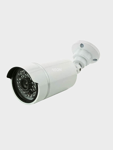Neon Security Camera